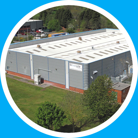 Silvegate unit on Wrexham Industrial Estate