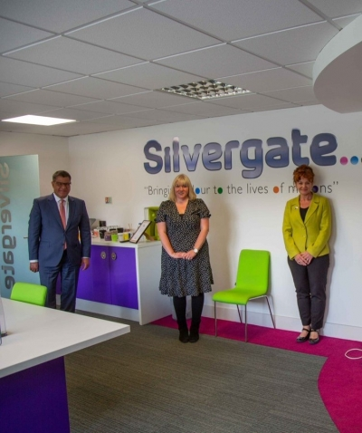 Sarah Atherton MP welcomes Business Secretary to Wrexham