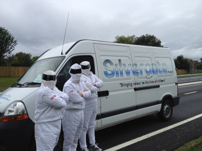 The Stig Visits Silvergate Plastics!